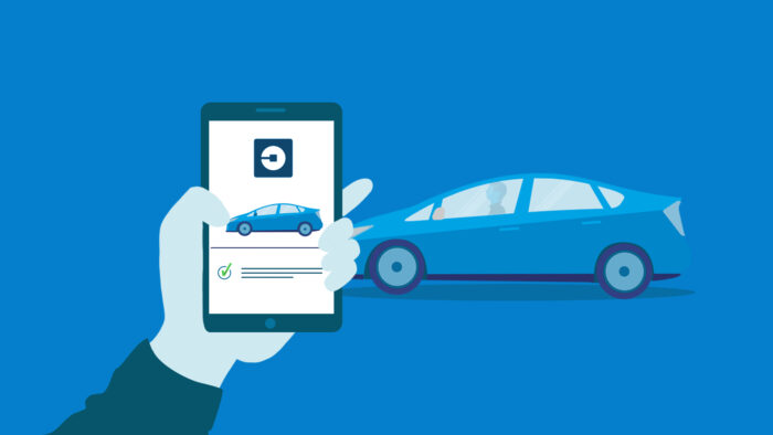 ride sharing versus owning a car