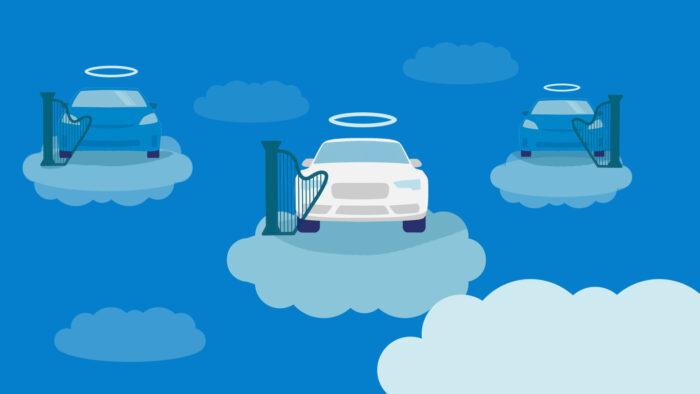 where dead cars go
