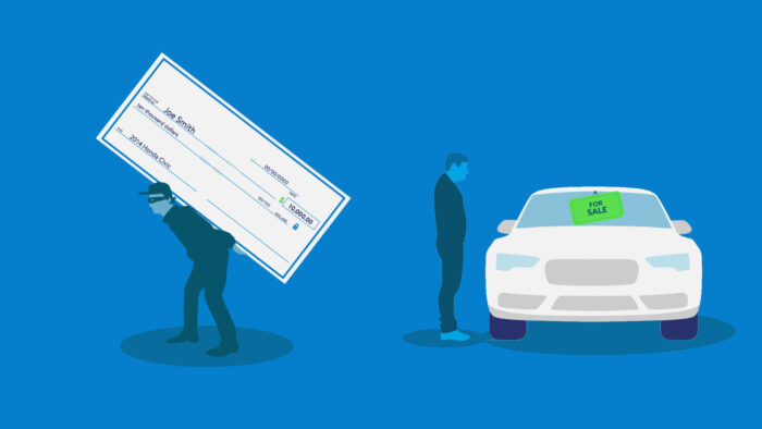 new sell your car scam