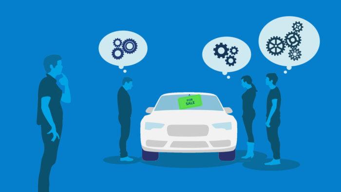 think like a car buyer
