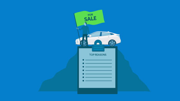 top reasons to sell your car